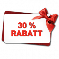 30% Rabatt