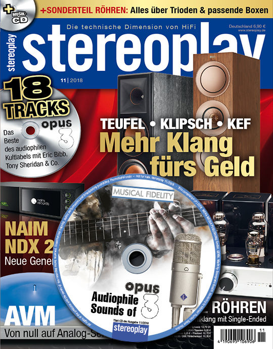 stereoplay Ausgabe: 11/2018